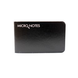 Recycled Firefigher - Micro Notebook | front view