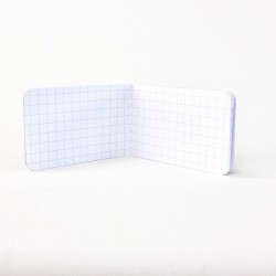 Recycled Firefigher - Micro Notebook | open