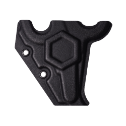 One Shear - holster, front view (black)