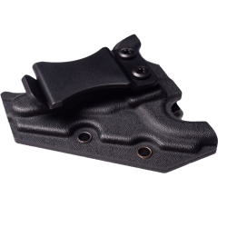 One Shear - holster, back view (black)