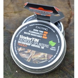 EXOTAC tinder Tin Splinters