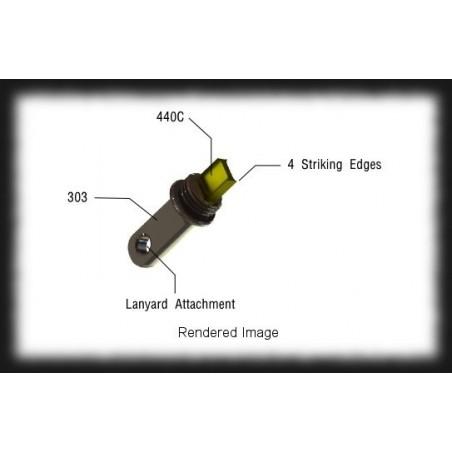 EXOTAC nanoSTRIKER Firesteel Striker parts