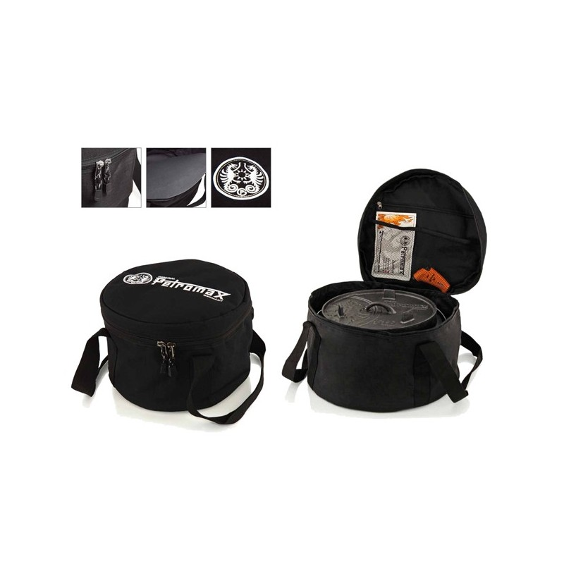Petromax Dutch Oven Transport Bags FT-TA sized small, mediam, large & XL. The XL is designed to transport the Petromax Atago