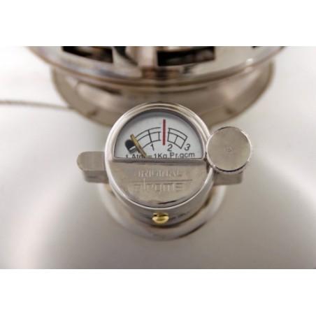 Petromax HK500 Pressure Lantern PX5 detail shot of pressure gauge