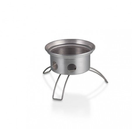 Petromax Fire Kettle detail shot of fire pan with folding legs. included with all Fire Kettles